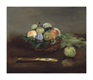 Basket of Fruit, c.1864 by Edouard Manet
