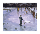 Curling by Sir John Lavery