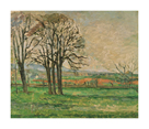 The Bare Trees at Jas de Bouffan, 1885-1886 by Paul Cezanne