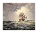 The Gallant 'Mayflower' by Montague Dawson