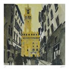Towards Palazzo Vecchio, Florence by Susan Brown