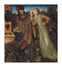 King Mark and La Belle Iseult by Sir Edward Burne-Jones