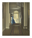 The Hall, June Morning by Leonard Campbell Taylor