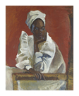 Trinidad Baptist Woman by Boscoe Holder
