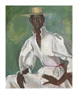 Wearing Boater by Boscoe Holder