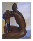 Male Nude II by Boscoe Holder