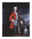 Portrait of a Boy And Spaniel by Charles D'Agat