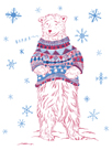 Winter Bear by Jessica Wilson