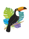 Toucan Tropics - Wild by Clara Wells