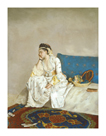 Woman Seated On A Bed by Jean Etienne Liotard
