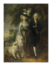 The Morning Walk by Thomas Gainsborough