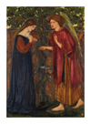 The Annunciation by Sir Edward Burne-Jones
