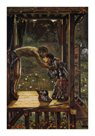 The Merciful Knight by Sir Edward Burne-Jones