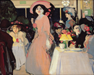 Cafe, Montmartre by John Duncan Fergusson