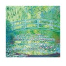 The Waterlily Pond with Japanese Bridge, 1899 by Claude Monet