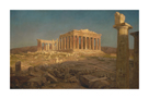 The Pathenon by Frederic Edwin Church