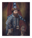 James Ewell Brown 'Jeb' Stuart by William Meijer