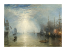 Keelmen Heaving in Coals by Moonlight, 1835 by J.M.W. Turner