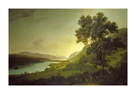 Loch Ness and Dochfour House by Alexander Nasmyth