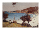 Holiday sketch at Coogee by Tom Roberts
