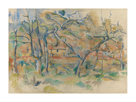 Trees and Houses, Provence by Paul Cezanne