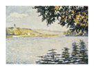 View of the Seine at Herblay by Paul Signac