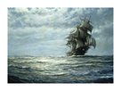 Running on the North Atlantic by Montague Dawson