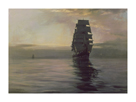 Twilight Shadows by Montague Dawson