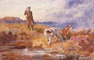 One Man and His Dogs by Archibald Thorburn