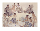 Variations on a Theme by Sir William Russell Flint