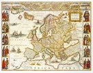 Europa, 1617 by Willem Janszoon Blaeu