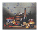 Dutch Tiles And Seafood by Raymond Campbell