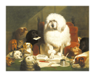 Laying Down The Law by Edwin Landseer
