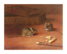 Hungry Mice by Archibald Thorburn