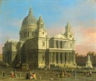 St Paul's Cathedral by Antonio Canaletto