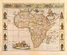 Nova Africa Descriptio, 1670 by Frederik De Wit