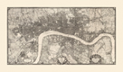 Map of London, 1746 by John Rocque