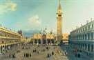 Piazza San Marco by Antonio Canaletto