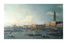 The Basin Of San Marco On Ascension Day by Antonio Canaletto