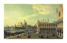View Of The Molo Towards The Grand Canal, Venice by Antonio Canaletto