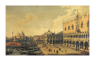 View Of The Molo, Venice by Antonio Canaletto