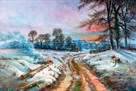Winter Landscape by Spencer Coleman