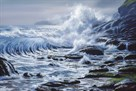Crashing Wave by Raymond Sipos