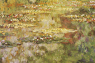 Waterlilies I by Claude Monet