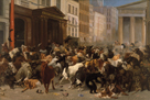 Bulls and Bears in the Market in 1879 by William Holbrook Beard