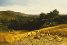 A Good Harvest by George Vicat Cole