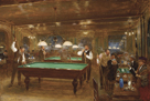 Le Billard by Jean-Georges Beraud