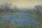 Field of Bluebonnets by Julian Onderdonk