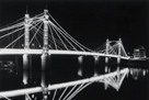 Albert Bridge At Night by Bill Philip