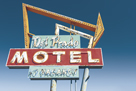 Highway Motel - Haze by Alan Copson